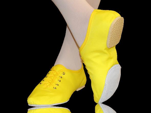 Джазовки текстильные Yellow