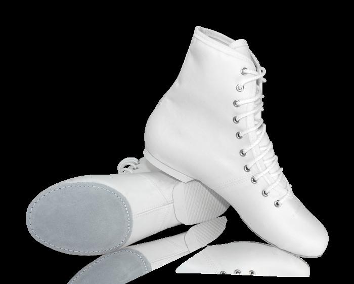 Ботинки джазовые текстильные СПЕЦИАЛЬНЫЕ (по предзаказу)